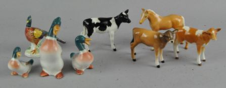 A group of assorted Beswick figures,