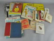 A quantity of assorted vintage books,
