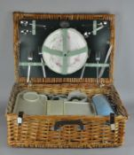 A wicker picnic hamper, from the Brexton collection,