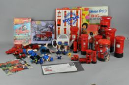 A group of assorted Royal Mail collectables , including tins,