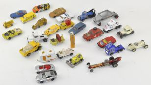 A selection of Die cast model vehicles,