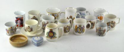 A group of Royal memorabilia,