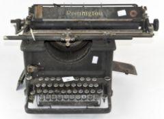 A vintage Remington typewriter,