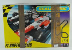A Scalextric F1 Super Teams set, in original box,