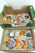 A collection of tea cards, including Pyramid Power,