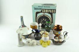 A group of ceramics,