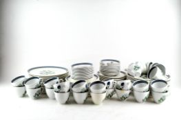 A large collection of Alfred Meakin dinner and tea wares,