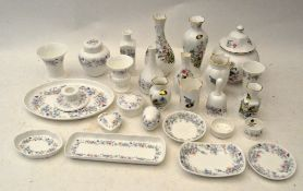 A collection of Wedgwood 'Angela' pattern,