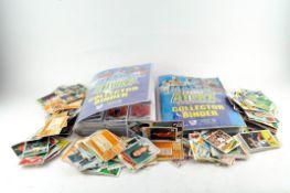 A collection of Bubblegum 'Footballer' cards,