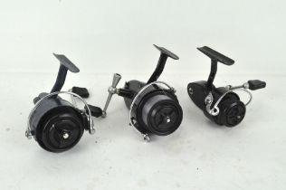 Three vintage 'Mitchell' fixed spool reels