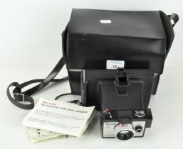 A Polaroid Square Shooter 2 Land camera,