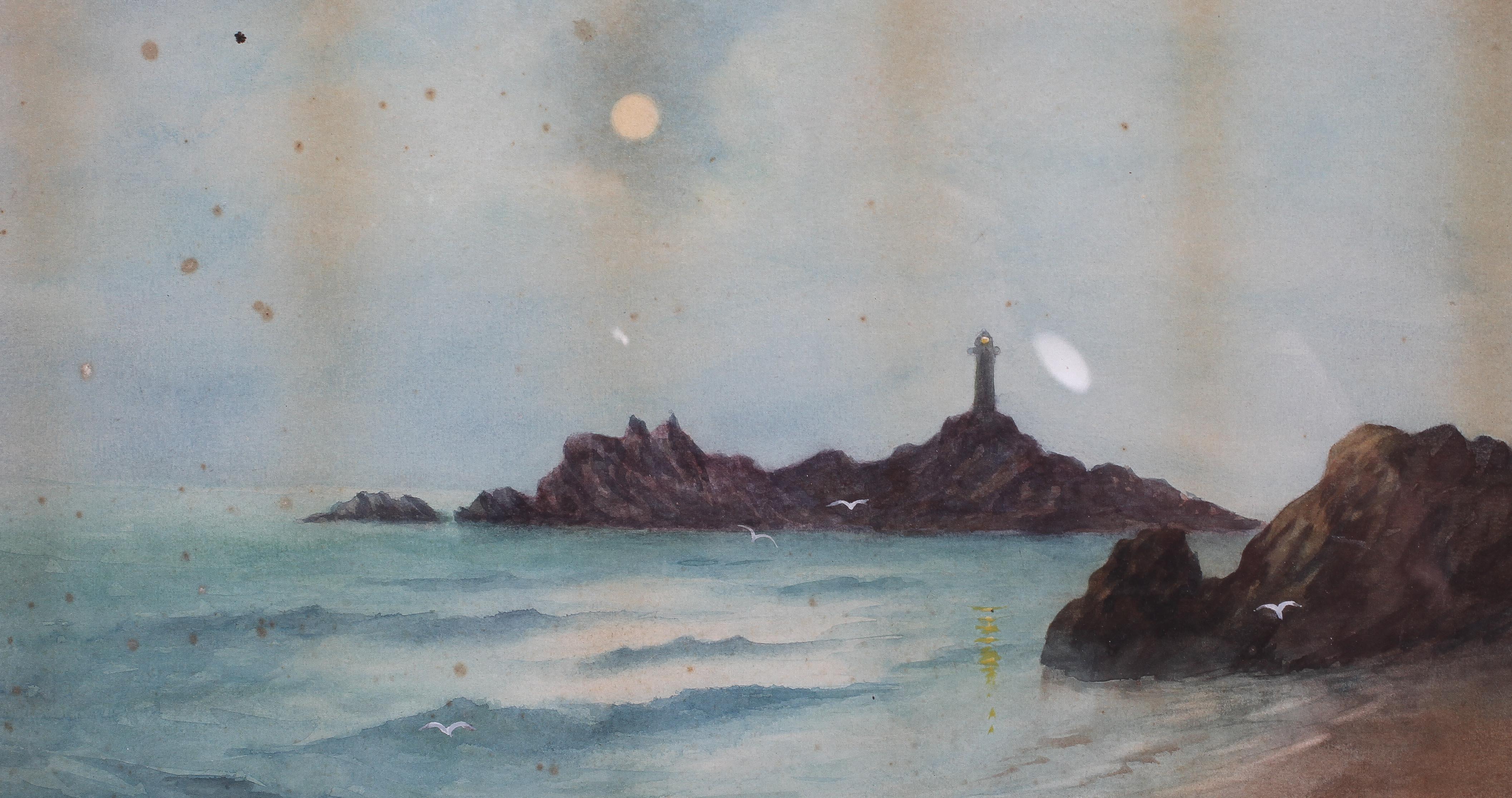 Abraham Hulk Jnr (1851-1922), Fishing Ship at Harbour Entrance, - Image 2 of 4