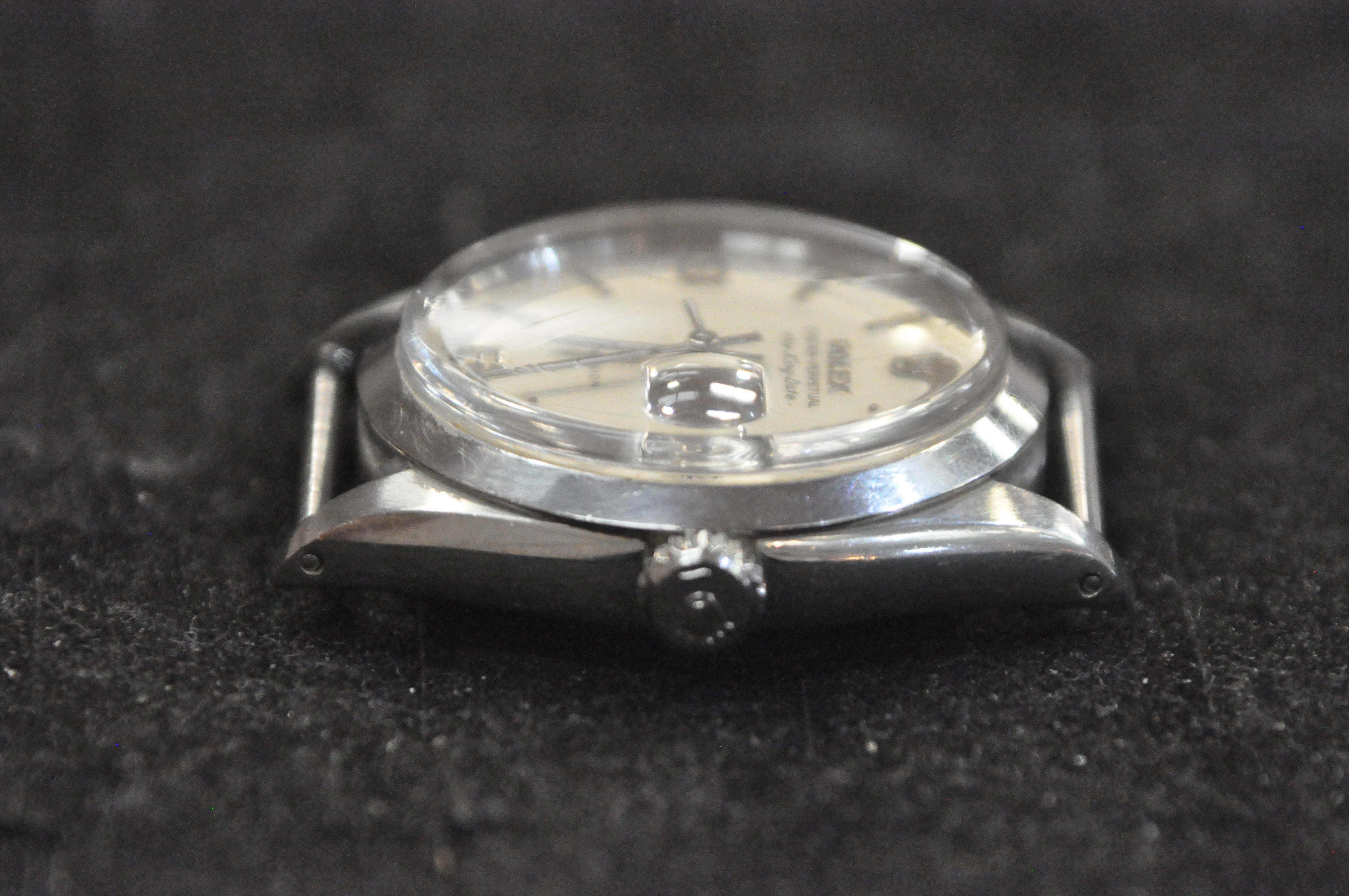 A stainless steel rolex oyster perpetual air king date wristwatch. - Image 9 of 11