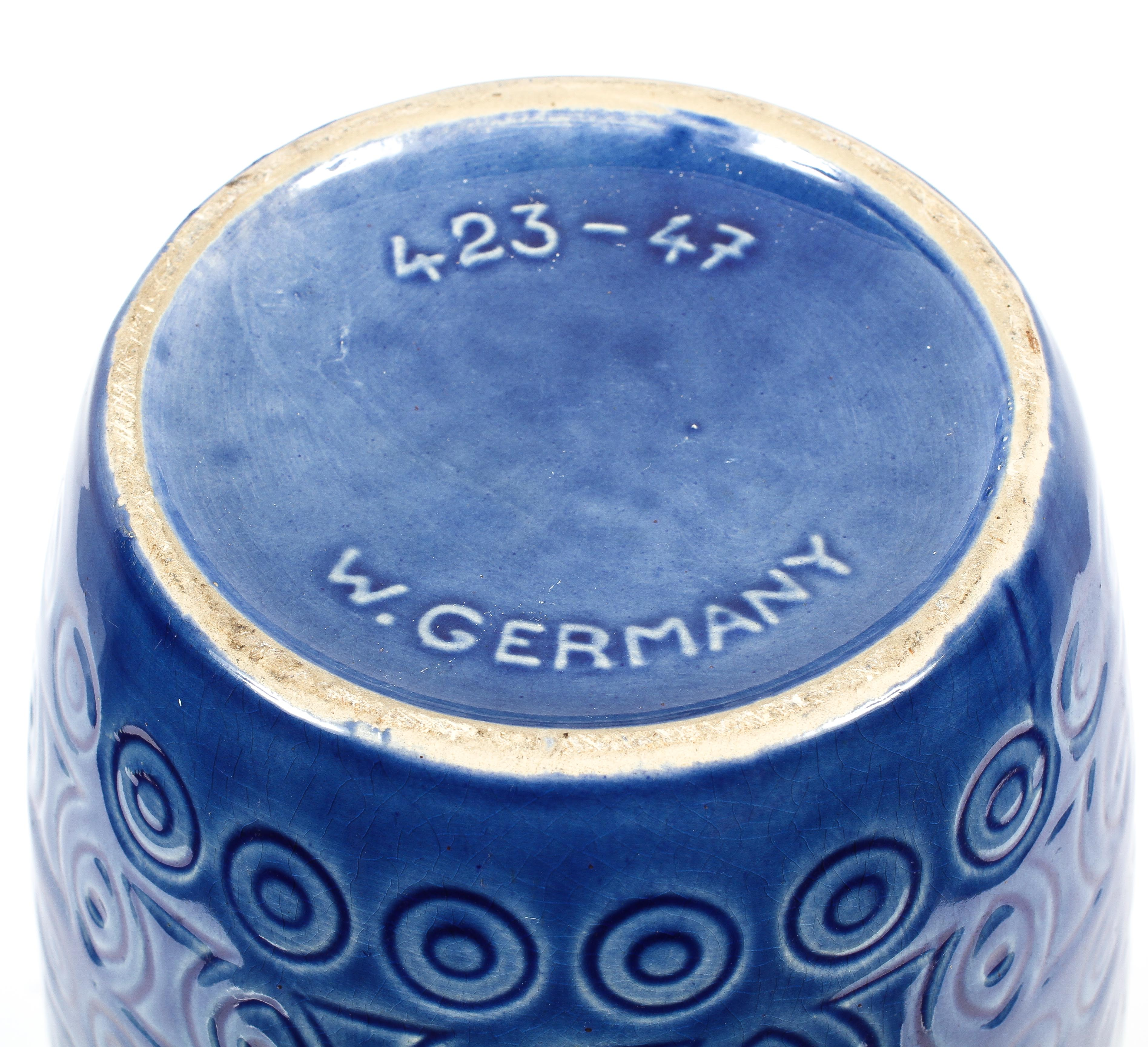 A West German pottery vase, circa 1960, numbered 423-47, - Image 2 of 2