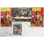 Four Peter Blake posters, comprising: two copies of 'Morgan Le Faithful',