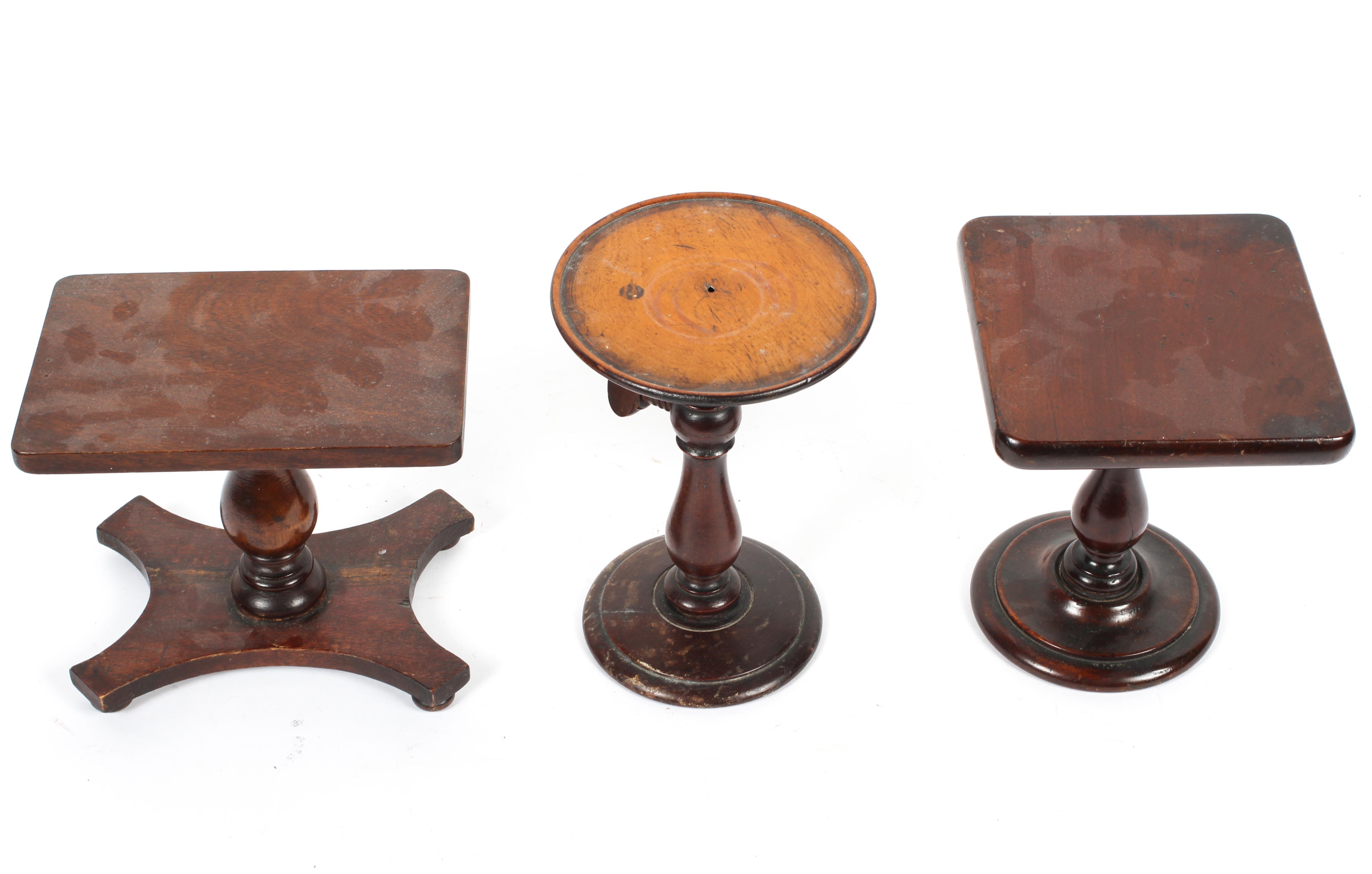 Three mahogany miniature or apprentice pieces, - Image 2 of 2