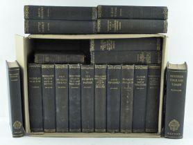 A quantity of books mainly Dickens