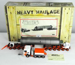A Corgi 1:50 scale Heavy Haulage model vehicle and another