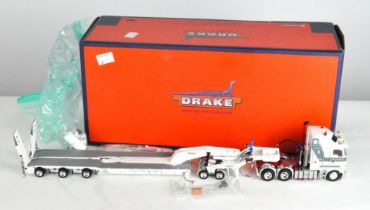 A Drake 1:50 scale 2X8 dolly and 3X8 swingwing with Kenworth K200 primemover, ZT09042,