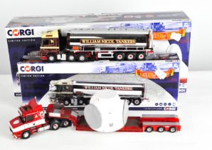 Two Corgi 1:50 scale Hauliers of Renown limited edition model vehicles and more