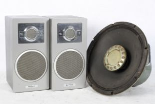 A pair of Hitachi 2 Way Speakers, model
