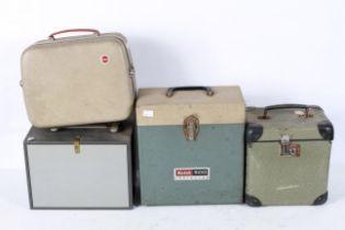 A Braun Narnberg slide storage case toge