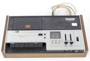 A Sony Cassette-Corder TC-134 SD tape re