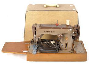 A retro vintage Singer Sewing machine 30