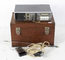 An Audio radio microphone, RMS 9, Serial