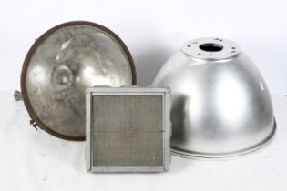 A Simplex industial spotlight, diameter