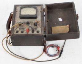 A Hickok 133b tester meter tubes vintage