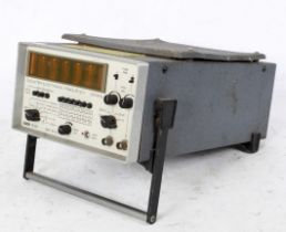 A Racal 836 counter electronic frequency