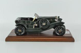 A limited edition Bentley Coalport model No 49,