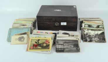 A large collection of assorted 20th century postcards, used and un-used,