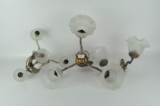 A early 20th century wall bracket,