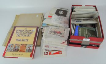 A collection of 20th century stamps and First Day covers, most relating to Jersey,