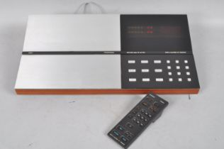 A Bang and Olufsen Beocord 8004 with remote control,