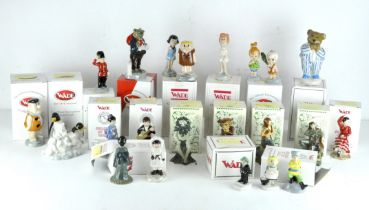 A collection of twenty three Wade ceramic figures, various designs,