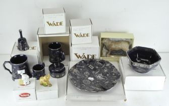 A selection of various Wade ceramics, including Millennium plate, bowl, tankards and others,