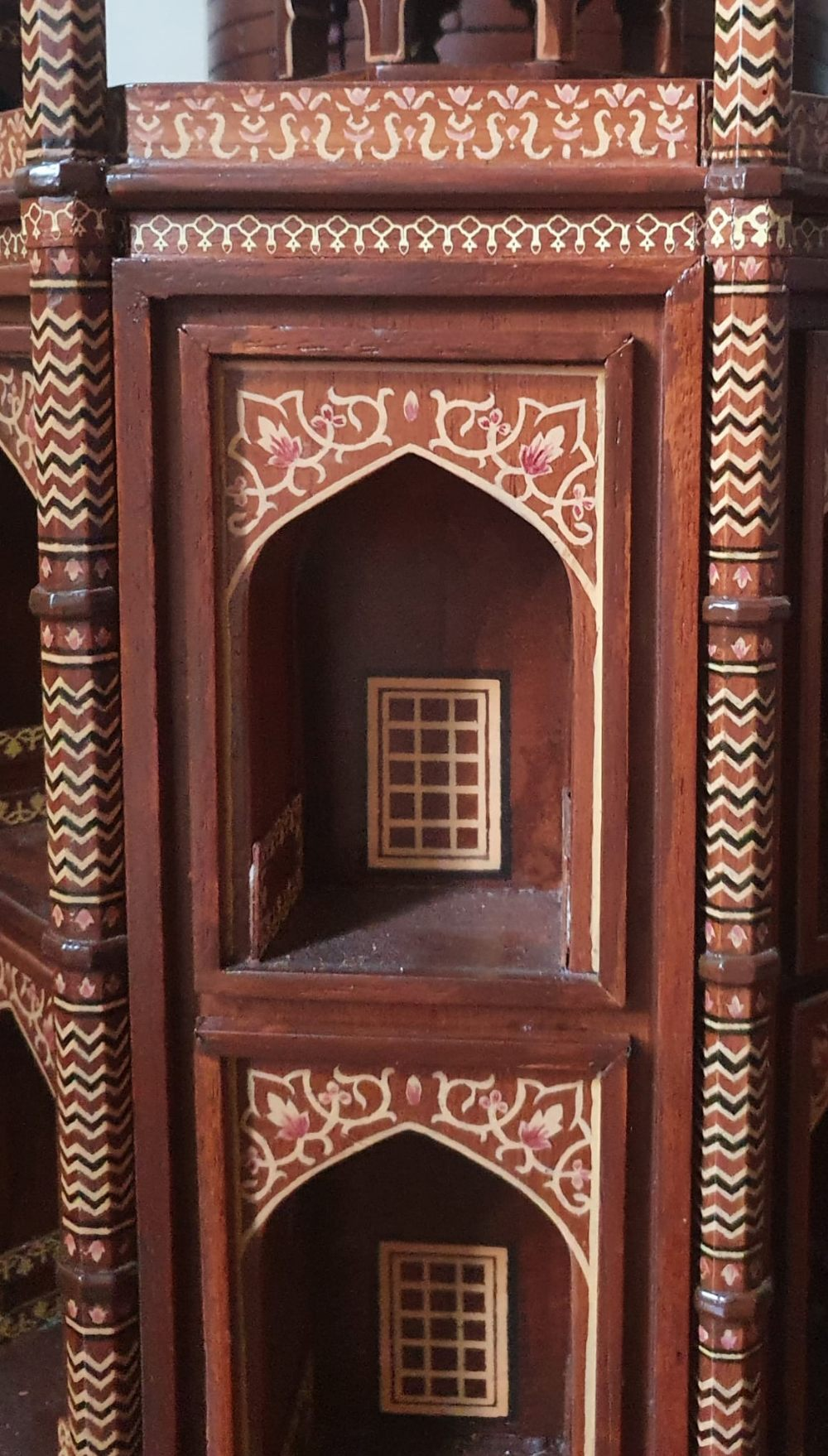 """A large wooden model of the Taj Mahal, Width 45"""", Height 32"""". Viewing by prior arrangement. - Image 8 of 8"""