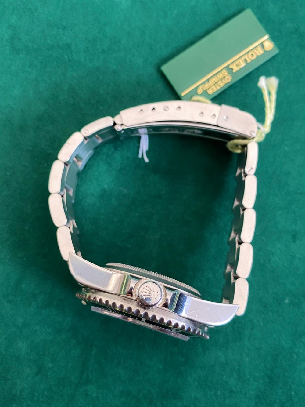 A gent's stainless steel Rolex Oyster Perpetual Date Sea-Dweller bracelet wrist watch, 2004 F Series - Image 2 of 4