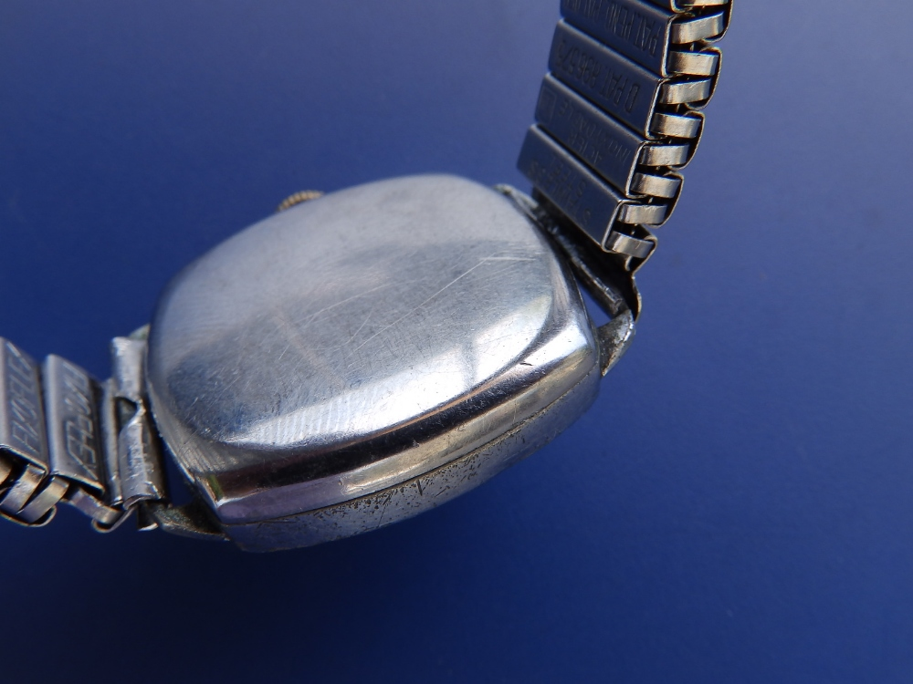A Tudor stainless steel wrist watch, with centre seconds, 24mm dial - a/f - Image 2 of 2