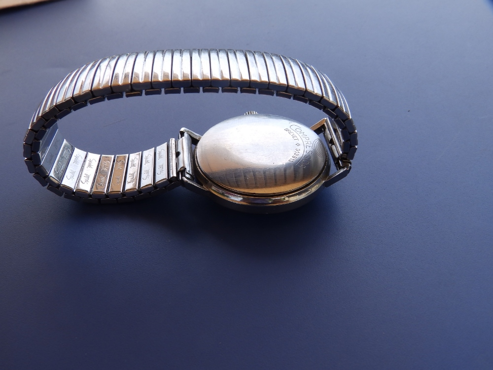 A boxed gent's stainless steel Watches of Switzerland Automatic Seafarer wrist watch with original - Image 3 of 3