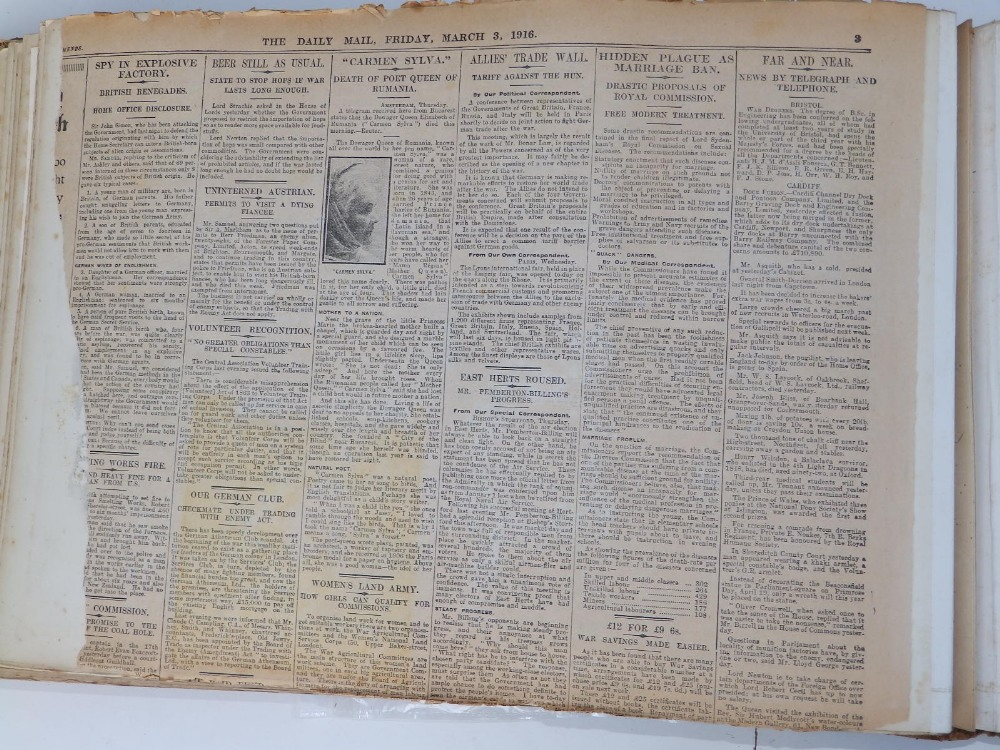A large scrap album - 'Spring and Summer 1908' and contents. - Image 13 of 17