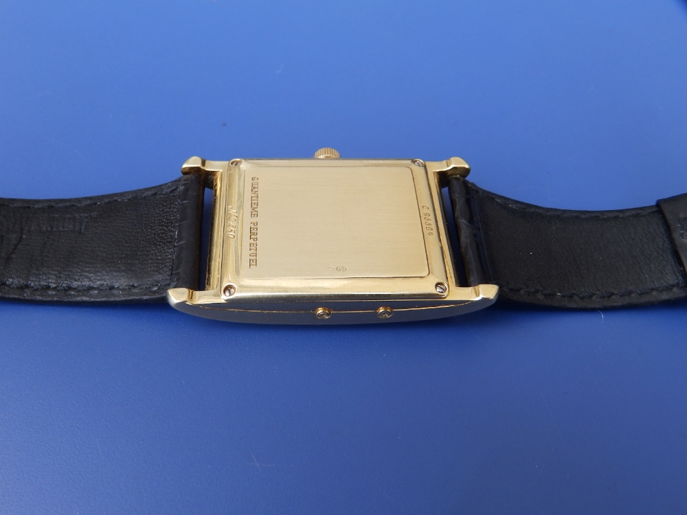 A gent's 18ct gold Audemars Piguet Perpetual Calendar wrist watch with moonphase, the white - Image 8 of 12
