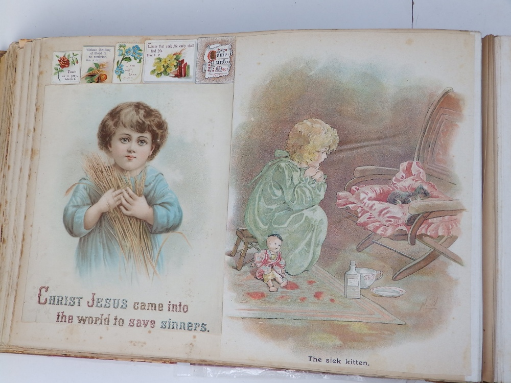 A large scrap album - 'Spring and Summer 1908' and contents. - Image 11 of 17