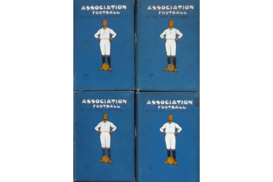 ASSOCIATION FOOTBALL & THE MEN WHO MADE IT - ALL 4 VOLUMES