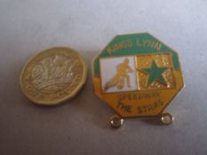 SPEEDWAY - KINGS LYNN GILT BADGE