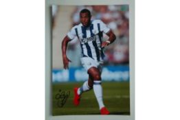 WEST BROMWICH ALBION - MATT PHILIPS SIGNED PHOTO