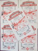 LIVERPOOL HOMES 1952-53 & 1954-55 X 5